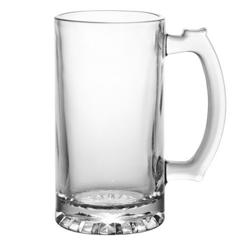 barconic glass beer stein