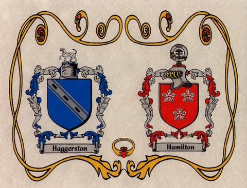 Family Coat of Arms wedding