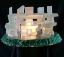 glass inukshuk family
